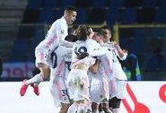 """Čempionų lygos aštuntfinalis: 86-ąją minutę įvartį pelnęs """"Real"""" patiesė """"Atalanta"""" futbolininkus"""
