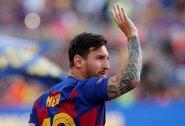 """Paskutinėje treniruotėje nedalyvavęs L.Messi praleis rungtynes su """"Real Betis"""""""