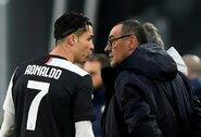 """""""Juventus"""" direktorius: """"Sprendimas atleisti M.Sarri priimtas iki rungtynių su """"Lyon"""""""