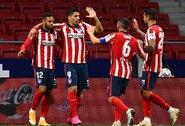 """""""Atletico"""" nugalėjo dešimtyje rungtyniauti likusius """"Real Betis"""" futbolininkus"""