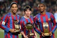 """Laikus """"Barcelonoje"""" su L.Messi prisiminęs Ronaldinho: """"Jis turėjo viską, jam nieko iš manęs nereikėjo"""""""
