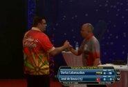 Savo žaidimą ženkliai pagerinęs D.Labanauskas Vokietijoje buvo netoli pusfinalio