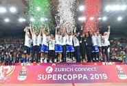 P.Soroko atstovaujamas klubas iškovojo Italijos Supertaurę