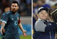 Skambus pareiškimas: L.Messi geresnis už D.Maradoną?