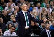 """Š.Jasikevičius nerodė daug optimizmo dėl M.Grigonio: """"Jis vėl žais tik su įdūrimu, o po šios savaitės priiminėsime sprendimus"""""""