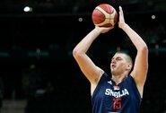 NBA žaidėjų vedami serbai susitvarkė su turkais
