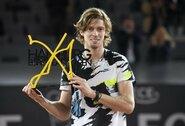 ATP 500 turnyro Vokietijoje finale A.Rubliovas išplėšė pergalę prieš S.Tsitsipą