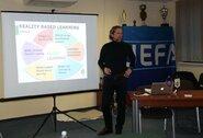 Lietuvoje vykusiuose mokymuose – pasaulinio lygio specialistas iš Belgijos