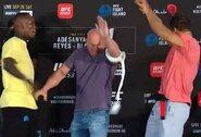 "Konfliktas ""UFC 253"" akistatose: I.Adesanyą suerzino jam duotas baltas diržas"