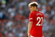"""""""Man United"""" nuostolis: D.Jamesas praleis rungtynes su """"Astana"""""""