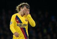 """""""Barcelona"""" puolėjas A.Griezmannas: """"Pirmajame kėlinyje nesukūrėme gerų atakų"""""""