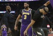 """""""Lakers"""" krepšininkai pasveiko nuo koronaviruso"""