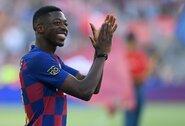 """""""Juventus"""" susidomėjo jaunuoju """"Barcelona"""" puolėju"""
