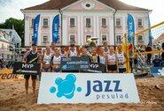 Seserys Grudzinskaitės triumfavo paplūdimio tinklinio turnyre Estijoje