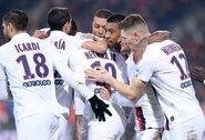 """Neymaro dublis paženklintas PSG pergale prieš """"Lille"""""""