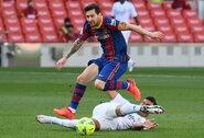 """J.Bartomeu: """"Buvo svarbu naują erą pradėti su L.Messi"""""""