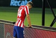 """""""Atletico"""" nesugebėjo įveikti """"La Ligos"""" autsaiderių"""