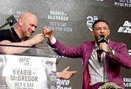 UFC prezidentas paaiškino, kodėl C.McGregoras yra didesnė žvaigždė nei R.Rousey, GSP ar A.Silva
