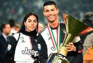 """Asmeninio gyvenimo detales su C.Ronaldo atskleidusi G.Rodriguez: """"Jis yra mano įkvėpimas"""""""