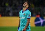 """""""Barcelona"""" lyderis L.Suarezas: """"Šis pralaimėjimas neramina ir žeidžia"""""""