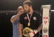 """Dar kartą T.Mustardą įveikęs M.Gervė –""""Shogun MMA"""" organizacijos čempionas!"""