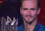 Dominuojantis D.Medvedevas triumfavo ATP 1000 turnyre Šanchajuje