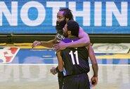 """""""Nets"""" nepasigailėjo varžovų ir pratęsė pergalių seriją"""