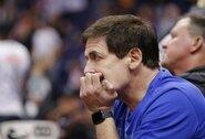 M.Cubaną nustebino NBA krepšininkų laisvalaikis sustabdžius sezoną