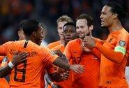 EURO2020 atranka: G.Wijnaldumo dublis padovanojo Olandijai pergalę prieš Baltarusiją