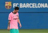 """L.Messi gali būti priverstas praleisti trejas """"Barcelonos"""" rungtynes"""