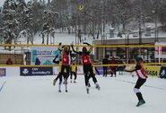 Dėl koronaviruso grėsmės lietuviai atsisakė kelionės į sniego tinklinio turą Italijoje