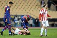 """L.Messi smūgį į galvą """"atlaikęs"""" A.Villalibre'as: """"Tai buvo akivaizdi agresija"""""""