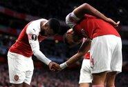"U.Emery atskleidė, jog ""Arsenal"" siekia pratęsti kontraktus su P.E.Aubameyangu ir A.Lacazette'u"