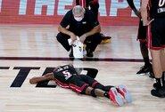 """Nereikšmingose """"Pacers"""" ir """"Heat"""" rungtynėse – skaudi dėjimų konkurso nugalėtojo trauma"""