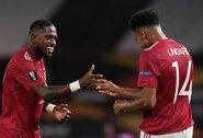 """88-ąją minutę pergalę išplėšęs """"Man Utd"""" užtikrintai žengė į Europos lygos ketvirtfinalį"""