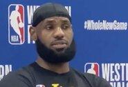 """Paklaustas apie NBA MVP balsavimą, L.Jamesas pratrūko: """"Tai mane užknisa"""""""