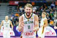 Paskelbti Lietuvos rinktinės rungtynių laikai olimpinėje atrankoje