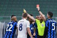 """A.Conte apie dvi geltonas korteles per 10 sekundžių gavusį A.Vidalį: """"Mums tai buvo didelis smūgis"""""""