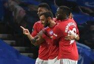 """Anglijoje – B.Fernandeso dublis ir užtikrinta """"Man Utd"""" pergalė"""