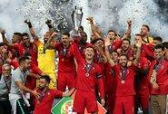Tautų lygoje triumfavusi Portugalija pakilo į stipriausių šalių penketą, Lietuvos pozicija nepasikeitė