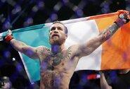 Kaip į įspūdingą C.McGregoro pergalę sureagavo UFC kovotojai?