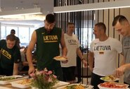 Lietuvos krepšinio rinktinei – Azijos virtuvės iššūkiai