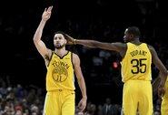 """""""Warriors"""" sieks išsaugoti traumuotus K.Durantą ir K.Thompsoną"""