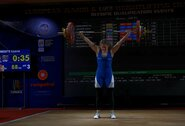 L.Jakaitė Europos jaunimo sunkiosios atletikos čempionate iškovojo mažąjį bronzos medalį