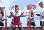 Europos čempionate Kaune lietuvės dėl aukštų vietų nekovojo, rusė ir prancūzė pagerino pasaulio rekordus