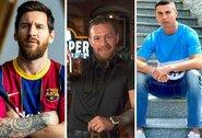 """""""Forbes"""" paskelbė daugiausiai per metus uždirbusių sportininkų sąrašą:C.McGregoras ištesėjo prieš penkis metus duotą pažadą ir aplenkė C.Ronaldo"""