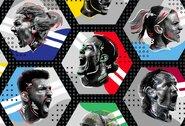 """""""Goal"""" geriausių žaidėjų 25-etukas: nukarūnuoti L.Messi bei C.Ronaldo, Neymarui vietos neatsirado"""