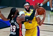 "A.Davisas: ""Su LeBronu žaisiu dar devyniuose NBA finaluose"""