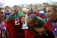 Negailestingi burtai: lietuviai žais su 2015 m. FIFA pasaulio paplūdimio futbolo čempionais
