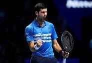 """Prestižinis """"ATP Finals"""" turnyras prasidėjo lengva N.Djokovičiaus pergale prieš debiutantą"""